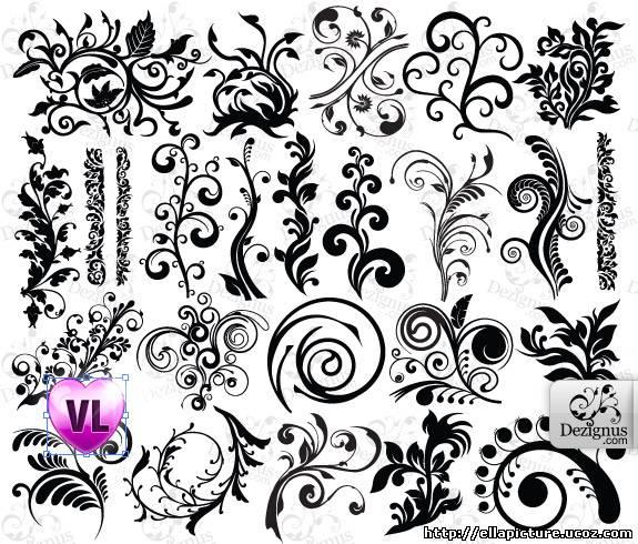 Узор или рисунок из разноцветных камешков